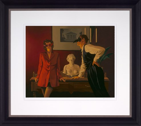 The Sparrow and the Hawk by Jack Vettriano - Framed Limited Edition on Paper