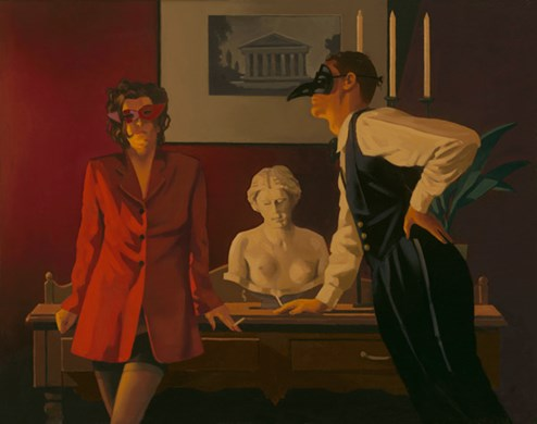 The Sparrow and the Hawk by Jack Vettriano - Limited Edition on Paper